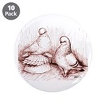 "Tumbler Pigeons 3.5"" Button (10 pack)"
