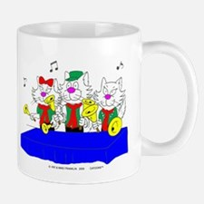 Bell Choir Cats Mugs Mug
