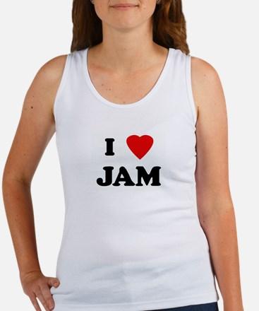 I Love JAM Women's Tank Top