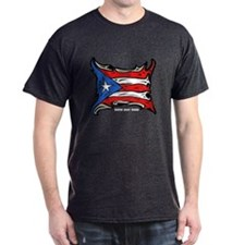 Puerto Rico Heat Flag T-Shirt