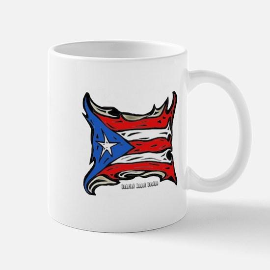 Puerto Rico Heat Flag Mug