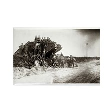 WWI Western Front Rectangle Magnet (10 pack)