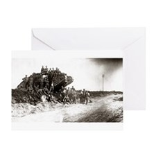 WWI Western Front Greeting Card