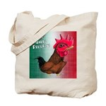 El Gallo Peligroso Tote Bag