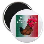 """El Gallo Peligroso 2.25"""" Magnet (10 pack)"""