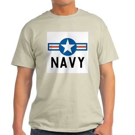 Navy Roundel Ash Grey T-Shirt