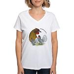 Sebrights Women's V-Neck T-Shirt