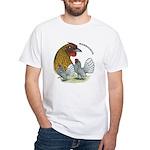 Sebrights White T-Shirt