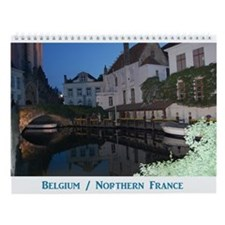 Belgium / France Wall Calendar