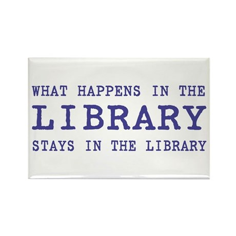 In the Library Rectangle Magnet (100 pack)