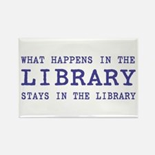 In the Library Rectangle Magnet (10 pack)