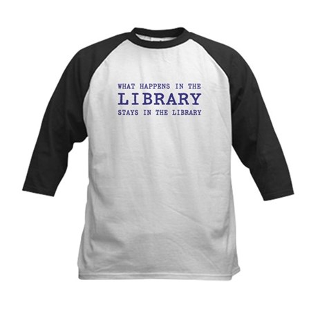 In the Library Kids Baseball Jersey