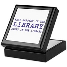 In the Library Keepsake Box