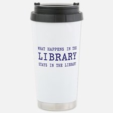 In the Library Travel Mug