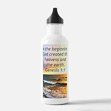 GENESIS 1:1 Water Bottle