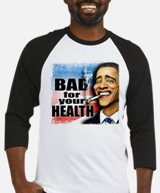 Bad for your health Baseball Jersey