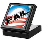 Obama Fails Keepsake Box