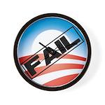 Obama Fails Wall Clock