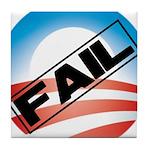Obama Fails Tile Coaster