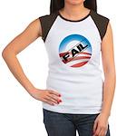Obama Fails Women's Cap Sleeve T-Shirt