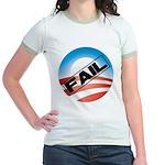 Obama Fails Jr. Ringer T-Shirt