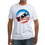 Obama Fails Fitted T-Shirt