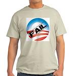 Obama Fails Light T-Shirt