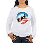Obama Fails Women's Long Sleeve T-Shirt