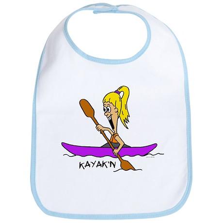 Chloe kayaking Bib