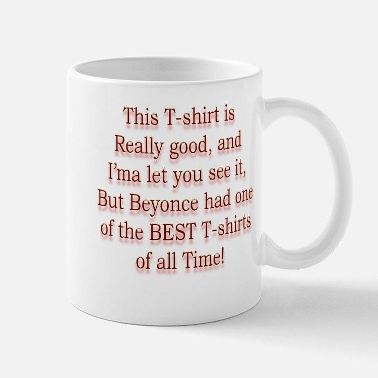 Funny Kanye Spoof T-shirt Mug