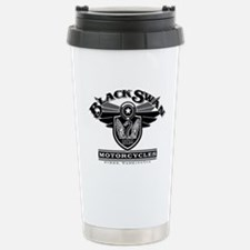 Black Swan Motorcycles Travel Mug