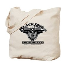 Black Swan Motorcycles Tote Bag