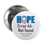 """Error 44 - Not Found 2.25"""" Button (10 pack)"""