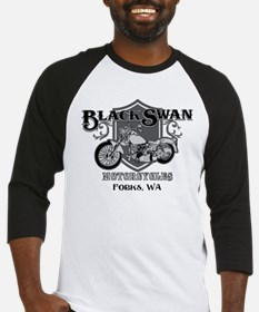 Black Swan Motorcycles Baseball Jersey