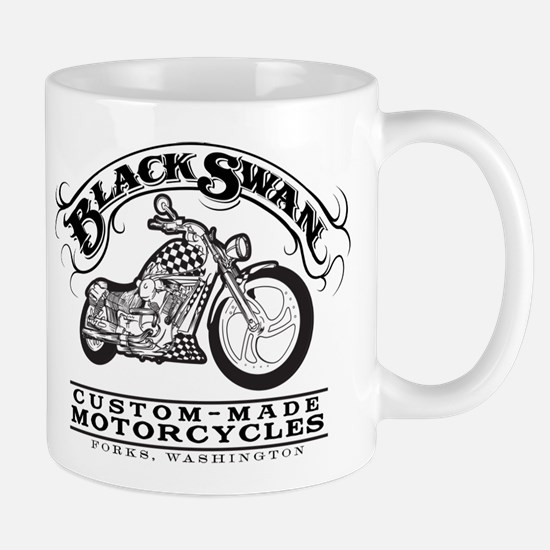 Black Swan Motorcycles Vintag Mug
