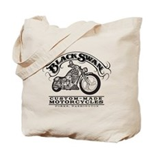 Black Swan Motorcycles Vintag Tote Bag