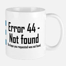 Error 44 - Not Found Mug