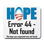 Error 44 - Not Found Mousepad
