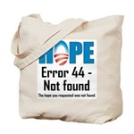 Error 44 - Not Found Tote Bag