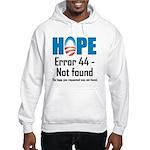 Error 44 - Not Found Hooded Sweatshirt
