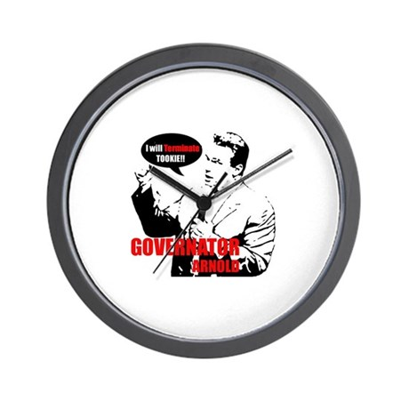 Arnold will terminate tookie Wall Clock