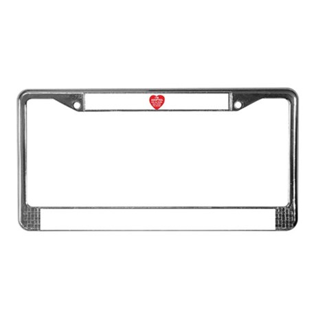 Adopted License Plate Frame
