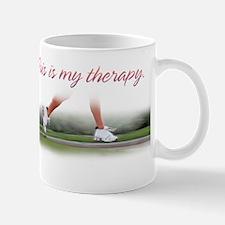 RUNNING THERAPY FEMALE RUNNER Mug