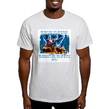 Zion's sake 1 Ash Grey T-Shirt