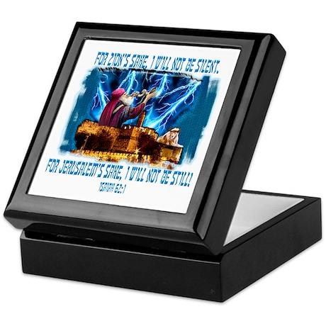 Zion's sake 1 Keepsake Box