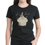 Cupcake Music Women's Dark T-Shirt