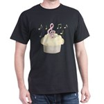 Cupcake Music Dark T-Shirt