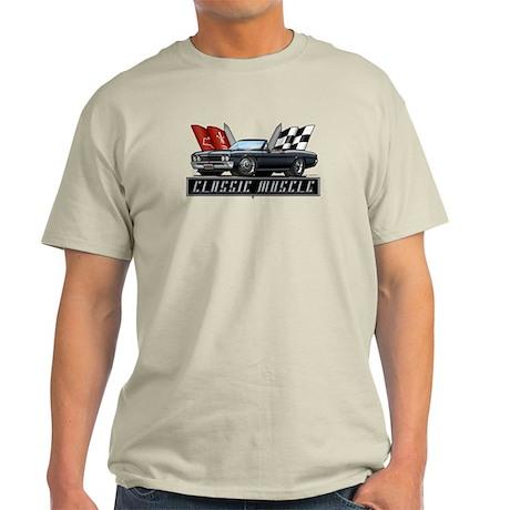 '67 Black Chevelle Convertibl Light T-Shirt