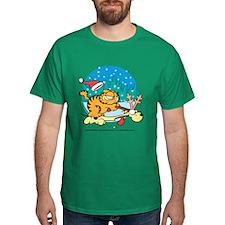 Odie Reindeer Dark T-Shirt