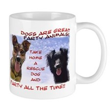 Party All the Time... 2-sided Mug